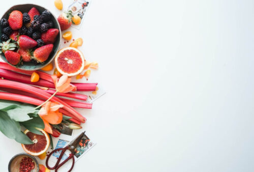 Rabarber och frukt