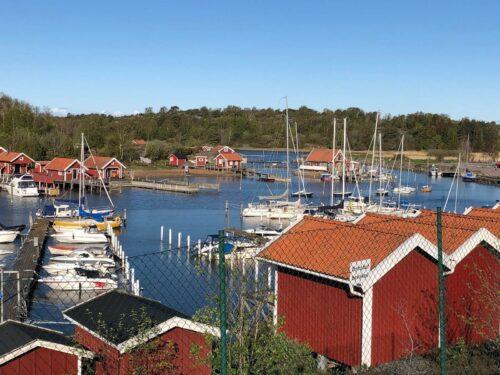 Inloppet till Eskils kanal söderifrån